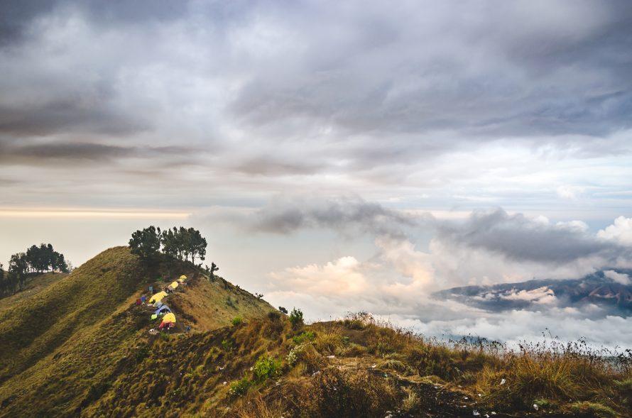 Mount Rinjani on Lombok island