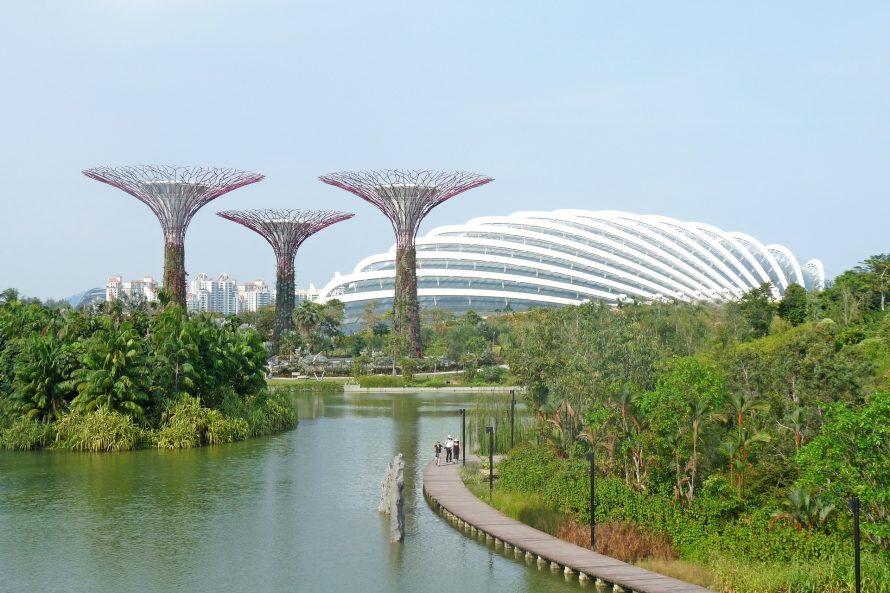 Honeymoon in Singapore, September